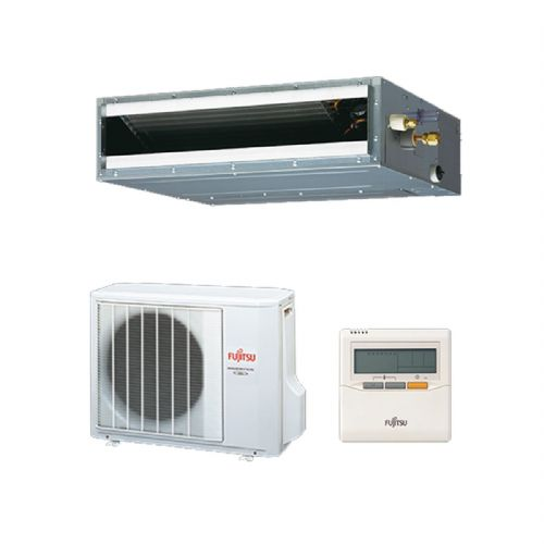 Fujitsu Air Conditioning ARYG12LLTB Slimline Convertible Concealed Duct Heat Pump Inverter (3.5Kw / 12000Btu) 240V~50Hz